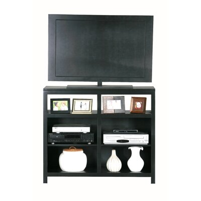Adler 42 TV Stand Color: Bright White, Door Type: None, Wood Species: Oak