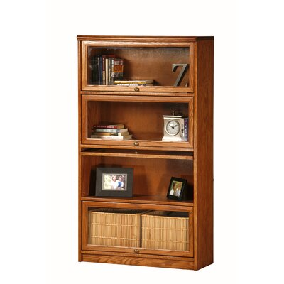 Classic Oak Promo Lawyer 58 Barrister Bookcase