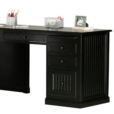 Eagle Furniture Manufacturing Coastal Computer Desk Return - Finish: Soft White, Door Type: None