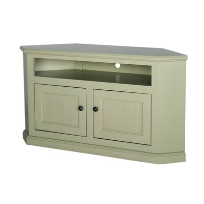 Coconut Creek 50 TV Stand Door Type: Wood Panel, Color: Summer Sage