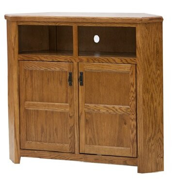Mission 57 TV Stand Color: Medium Oak, Width of TV Stand: 40 H x 57 W x 17 D
