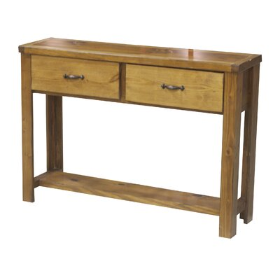 Console Table Finish: Iron Ore