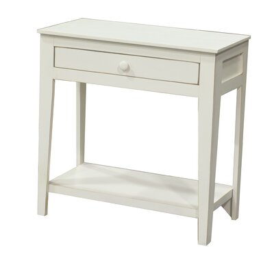 End Table Color: Soft White