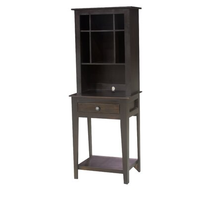 End Table Hutch Finish: Midnight Blue