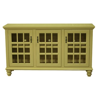 65 TV Stand Color: Kahki Green