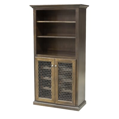 24 Bottle Floor Wine Cabinet Finish: European Coffee