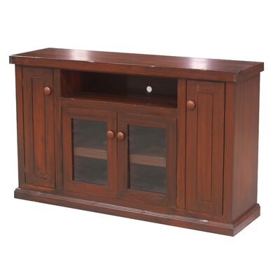 Calistoga 57 TV Stand Color: Smokey Blue