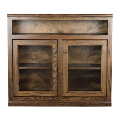 45.5 TV Stand Color: Dark Oak