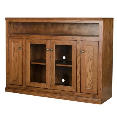 55 TV Stand Color: Dark Oak