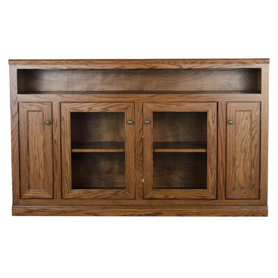 66 TV Stand Color: Medium Oak