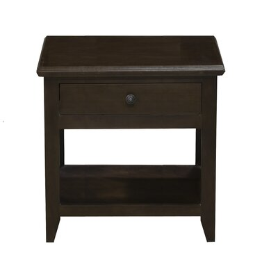 End Table Finish: Antique Black