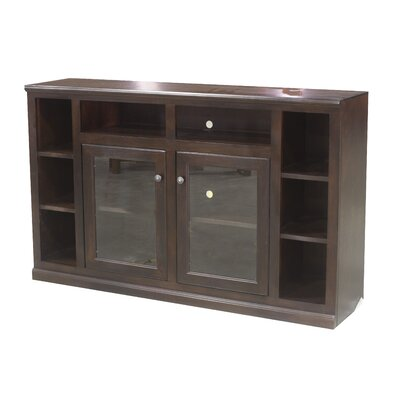 66 TV Stand Color: European Coffee