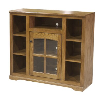45.5 TV Stand Color: Light Oak