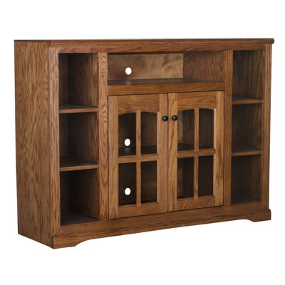 55 TV Stand Color: Light Oak