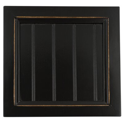 Coconut Creek 50 TV Stand Door Type: Wood Panel, Color: Antique Black