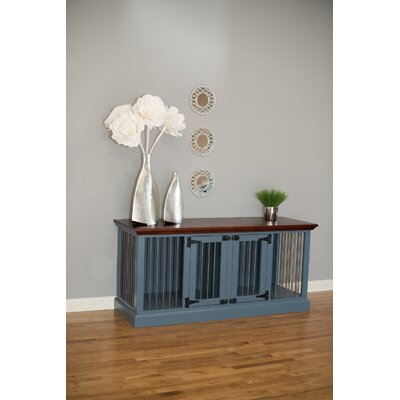 Massie Double Wide Small Credenza Pet Crate