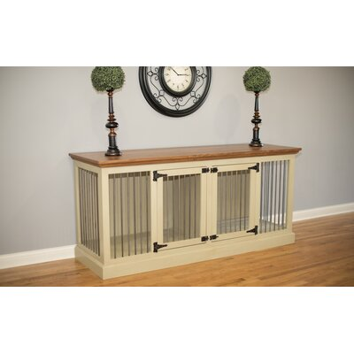 Arthur Double Wide Medium Credenza Pet Crate