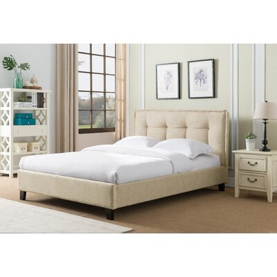 Almaguer Upholstered Platform Bed Size: Queen
