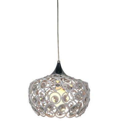 Holland 1-Light Crystal Pendant