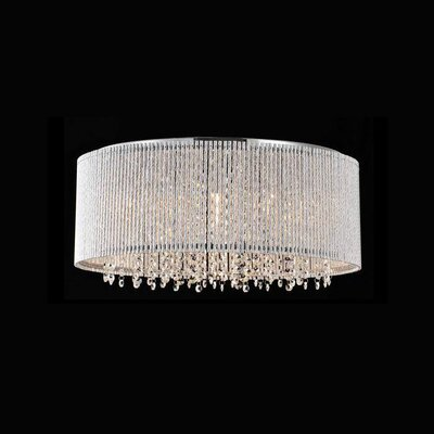 Chloe 10-Light Flush Mount