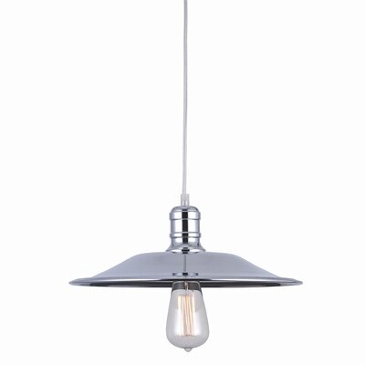 Astor Court Industrial 1-Light Mini Pendant