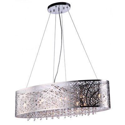 Royal 9-Light Kitchen Island Pendant