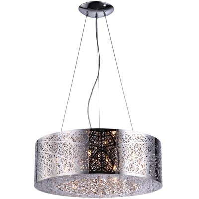 Alya 9-Light Drum Pendant