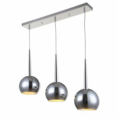 Killough 3-Light Kitchen Island Pendant