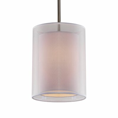 Latonya 1-Light Drum Pendant