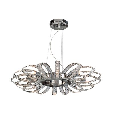 Brilliance 8-Light Crystal Chandelier