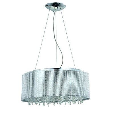 Chloe 10-Light Drum Chandelier