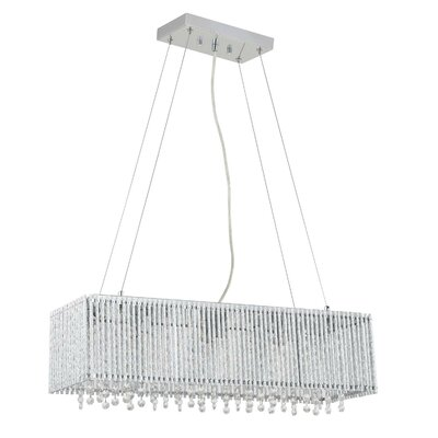 Chloe 6-Light Crystal Pendant