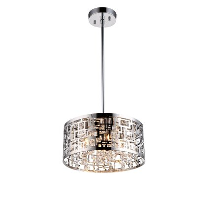 Metropolitan 4-Light Drum Pendant
