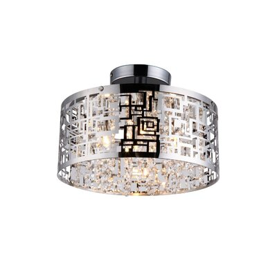 Metropolitan 4-Light Semi-Flush Mount