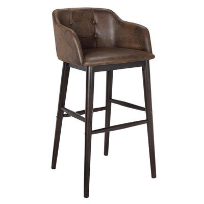 Axis 30.9 inch Bar Stool with Cushion (Set of 2)