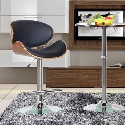 Hailey Adjustable Height Swivel Bar Stool