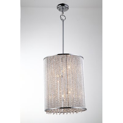 Chloe 9-Light Crystal Pendant
