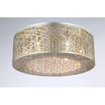 Alya 9-Light Flush Mount