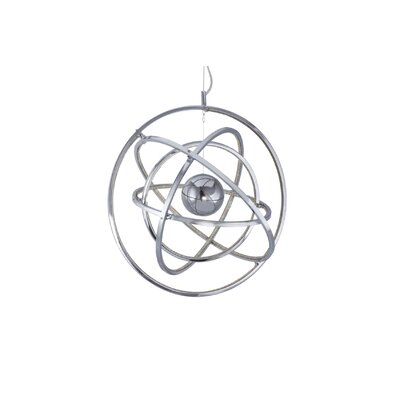 Dematteo Saturn 1-Light Geometric Pendant