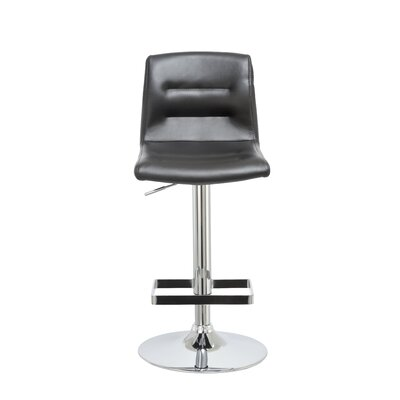 Knighten Adjustable Height Swivel Bar Stool