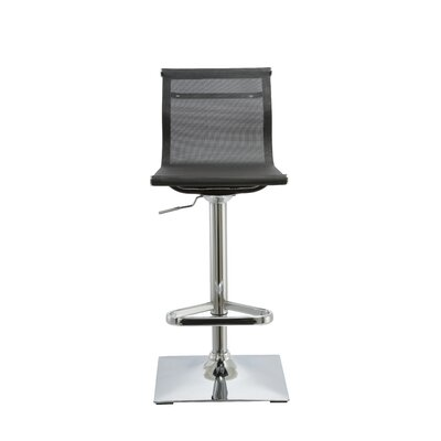 Kratz Adjustable Height Swivel Bar Stool