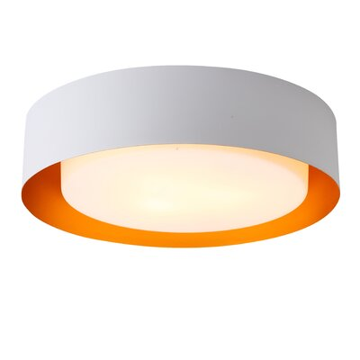 Case 3-Light Flush Mount