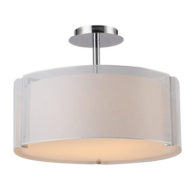 Seale 3-Light Drum Pendant