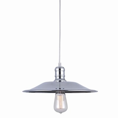 Astor Court 1-Light Mini Pendant Size: 5.5 H x 14 W x 14 D