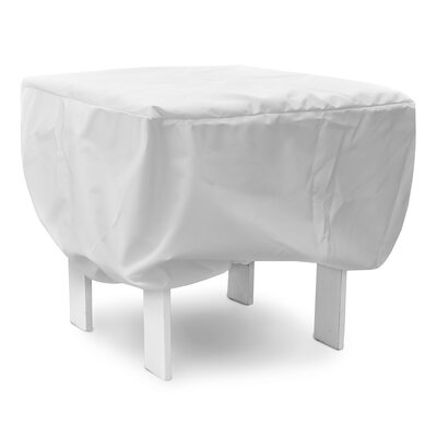 Weathermax Adirondack Footrest Cover Color: White