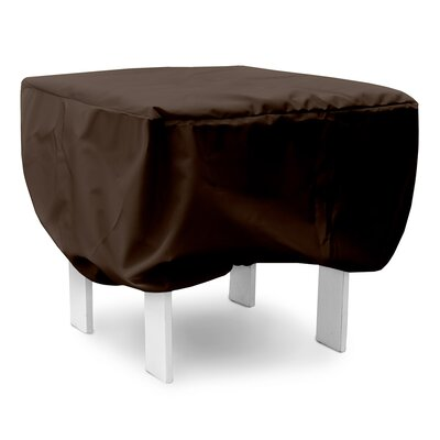 Weathermax Adirondack Footrest Cover Color: Chocolate