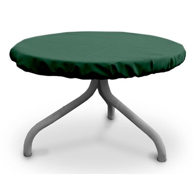 Weathermax Round Table Top Cover Size: 30 W x 30 D, Color: Forest Green
