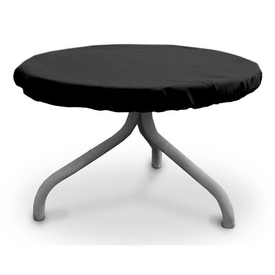 Weathermax� Round Table Top Cover Size: 30 W x 30 D, Color: Black
