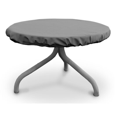 Weathermax� Round Table Top Cover Size: 30 W x 30 D, Color: Grey