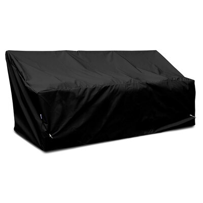 Weathermax� Deep 3-Seat Glider / Lounge Cover Color: Black